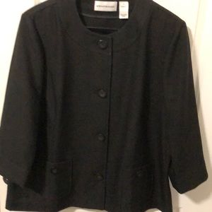 Alfred Dunner button down jacket